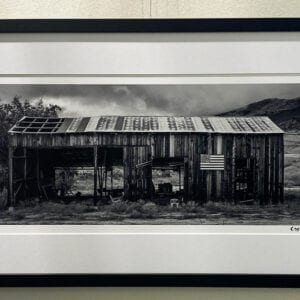 Anerican Barn in Gallery Mounting