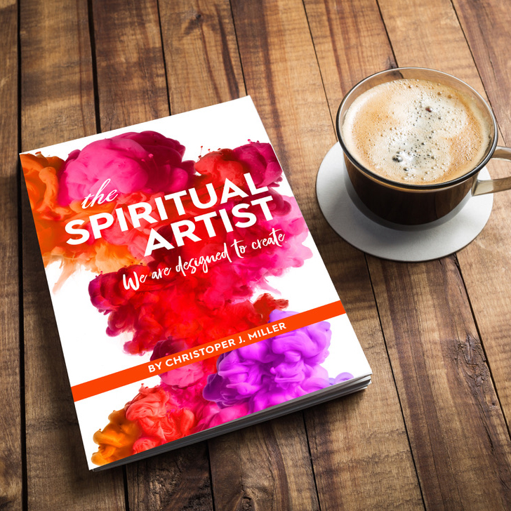 "Podcaster, Writer and Artist Christopher J. Miller Shares New Book Release, ""The Spiritual Artist"""