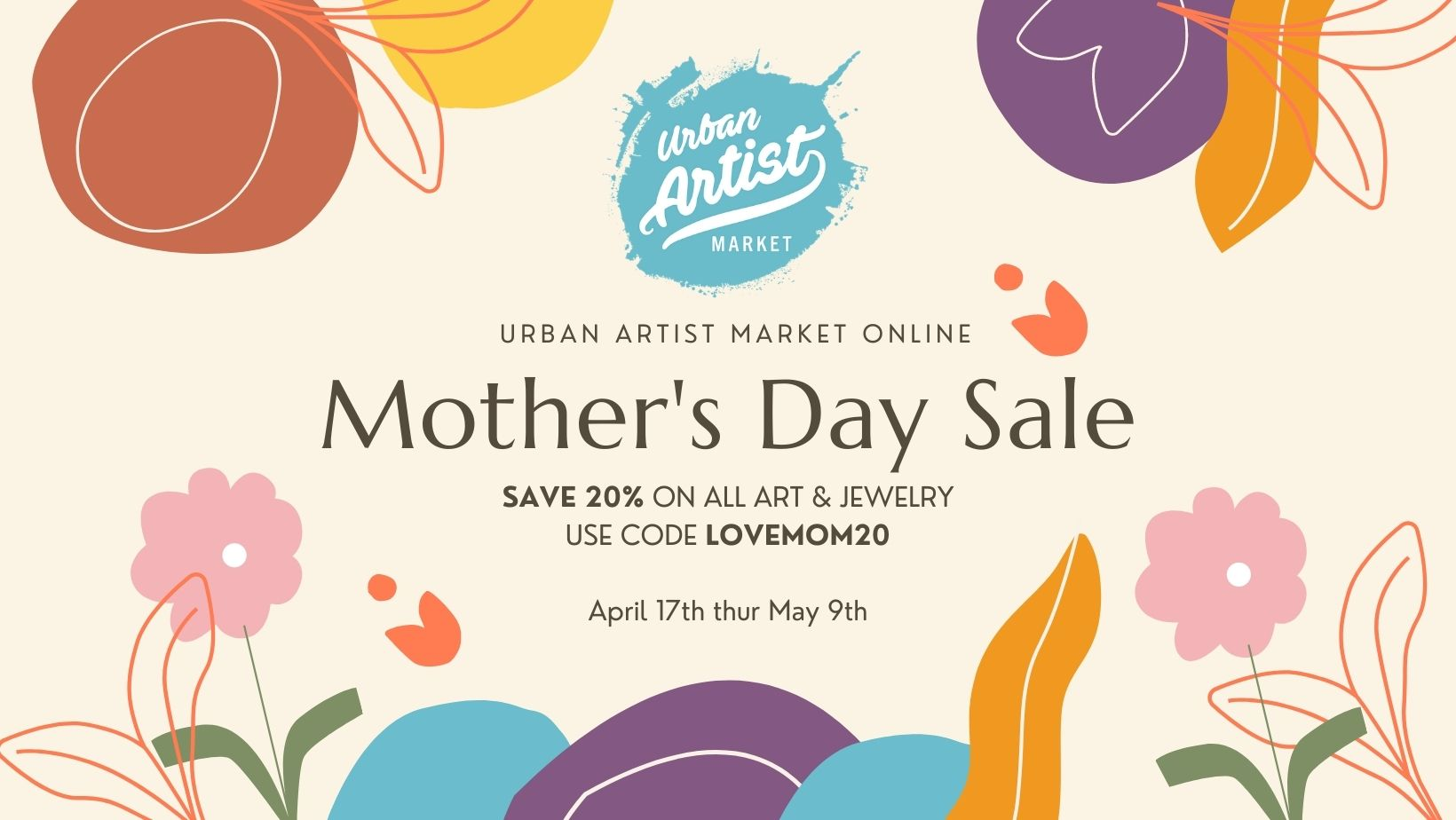 Announcing 20% OFF Mother's Day Sale